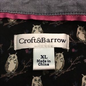 croft & barrow Tops - 💗Croft & Barrow Owl Blouse